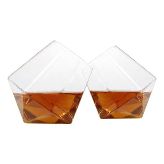 Diamantglas - 2-pack