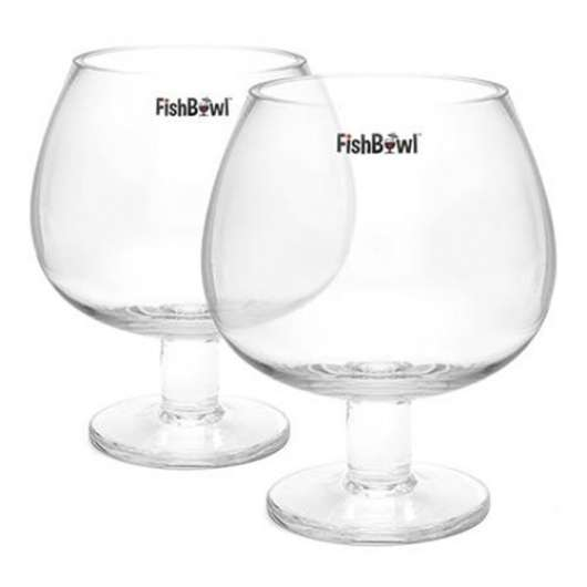 FishBowl Gin Glas - 2-pack