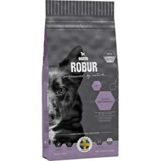 Hundfoder Bozita Robur Active Performance, 12 kg