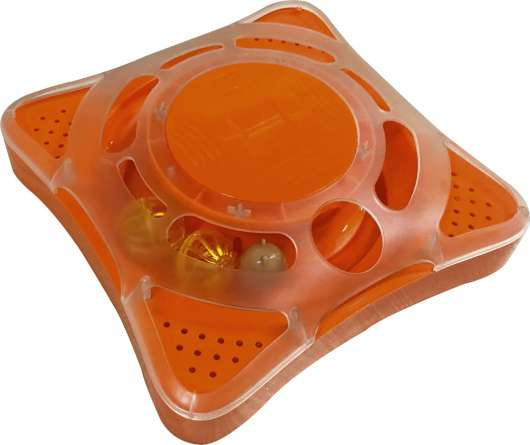 Kattleksak M-Pets Orbit Elektronisk, Orange